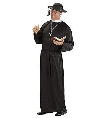 WIM 39011 Priester Geistlicher Pastor Kirche Heilig Fasching Herren Kostüm - Heiligen Geist Kostüm