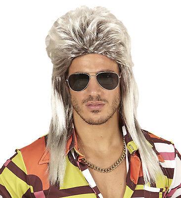 cke 70er 80er Jahre Rocker Vokuhila blond Kostüm 120465213 (80er Jahre Rocker Perücke)