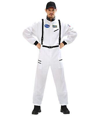 WIM 11041 Fasching Karneval Halloween Herren Kostüm Astronaut Weltaum Space - Herren Space Kostüm