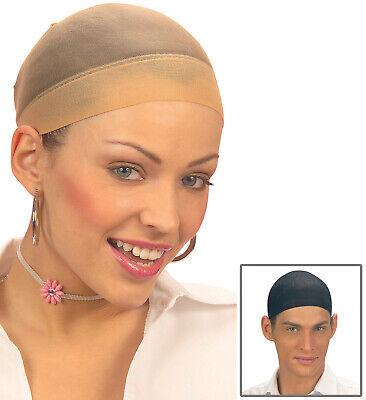 Haarnetz Set in 2 Stück jeweils hautfarben und schwarz Haarschutz für Perrücken