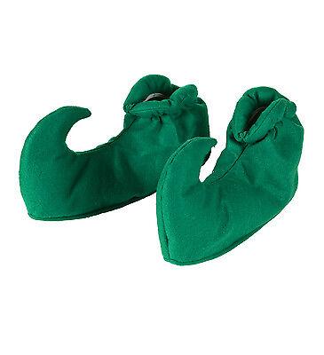 ELF SHOE COVERS CHRISTMAS FANCY DRESS XMAS DWARF LEPRECHAUNS SHOES - Elf Shoe Covers