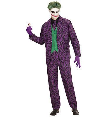 WIM 19311 Fasching Herren Kostüm Evil Joker Clown Harlekin böser Scherz Streiche