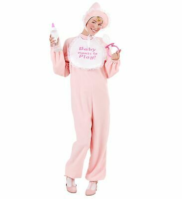 BABY GIRL JUMPSUIT  FANCY DRESS COSTUME  ADULT PINK