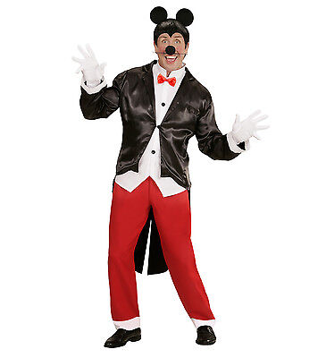WIM 05882 Fasching Karneval Halloween Herren Kostüm Maus Mister Mouse Tier - Maus Halloween Kostüm
