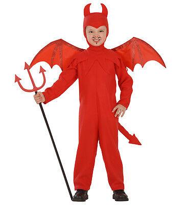 ANT 4192D Kinder Jungen Kostüm Teufel Diablo Devil Satan Overall 110 116 3-5 - Diablo Kostüm