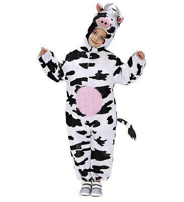 Cow Kuhkostüm Fasching Karneval Kinder Unisex Kostüm  (Funny Kuh Kostüm)