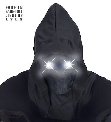 tbares Gesicht LED weiße leuchtende Augen Halloween (Auge Masken Halloween)