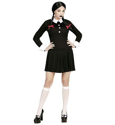 Dark Girl Kleid Grusel Horror Halloween Gruselkleid Mädchen Damen Gothic Gr. XS ()