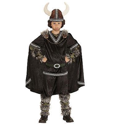 WIM 05986 Kinder Jungen Fasching Kostüm Wikinger Viking Nordmänner Eroberer See