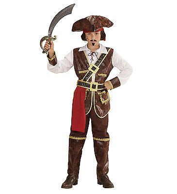 WIM 73035 Pirat Pirate See Karibik Sea Freibeuter  Kinder Fasching Jungen Kostüm