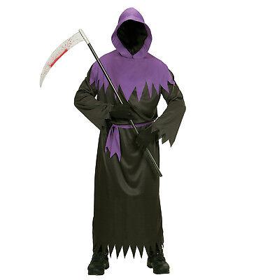 WIM 00101  Phantom Sensenmann Reaper Herren Fasching Halloween Kostüm - Phantom Reaper Kostüm