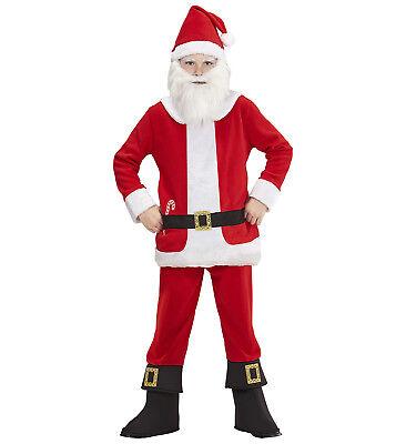 n Kinder Kostüm Weihnachtsmann Nikolaus Santa Claus X-Mas (Kind Santa Claus Kostüm)