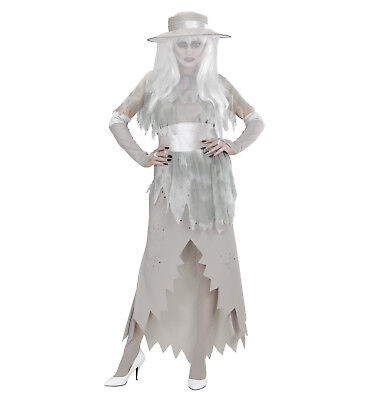Geisterkostüm Geisterbraut Halloween Gr. XL  Gespensterbrau ()