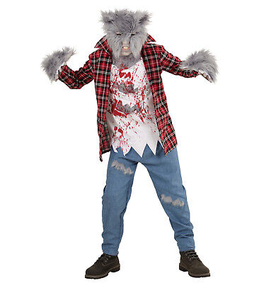 WIM 08806 Werwolf Wolf Hund Werewolf Kinder Jungen Fasching Halloween Kostüm  (Junge Hund Halloween-kostüme)