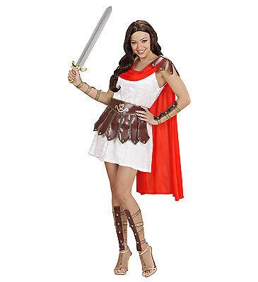 WIM 71561 Krieger Prinzessin Warrior Gladiator Kämpferin Karneval Damen (Gladiator Krieger Prinzessin Kostüm)
