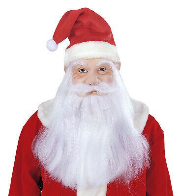 Weihnachtsmann Maske Mütze Bart Nikolaus Santa Claus Weihnachten - Santa Claus Maske