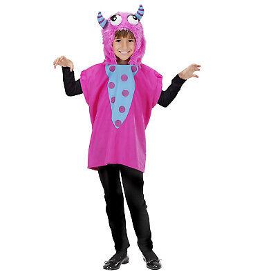 ANT 9299K Monster Monsterkostüm Ungeheuer Kinder Mädchen Kostüm rosa 113 134