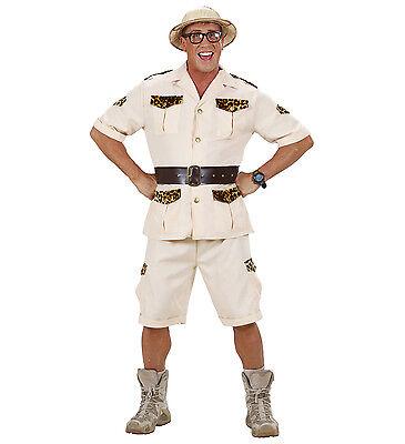 WIM 74711 Safari Jäger Hunter Afrika Abenteuer Fasching Karneval Herren Kostüm