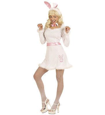 WIM 57601 Fasching Karneval Damen Kostüm Hase Häschen Bunny Kaninchen weiß - Rosa Häschen Kostüm