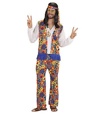 Faschingskostüme Männer Verkleidung Hippie 60er Jahre PS 22822