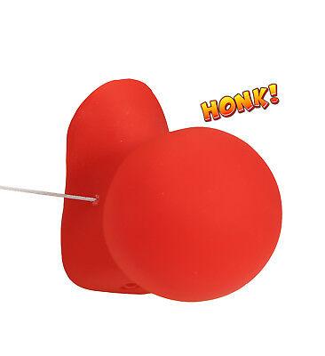 Clown Nase Clownnase Clownsnase mit Gummiband und Sound rot Kostümzubehör - Clown Kostüm Und Zubehör