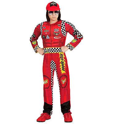 WIM 05415 Kinder Fasching Jungen Formel Fahrer Rennfahrer Racing Motor Car - Cars Kinder Kostüm