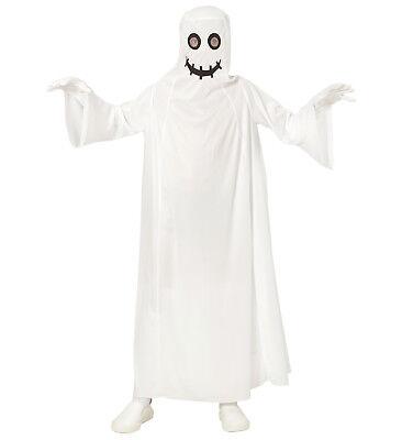 Kostüm Verkleidung Karneval Halloween Größe 140 8-10 years (Weißer Halloween Robe)