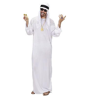 WIM 75961 Fasching Karneval Herren Kostüm Arabischer Scheich Araber Wüste Orient