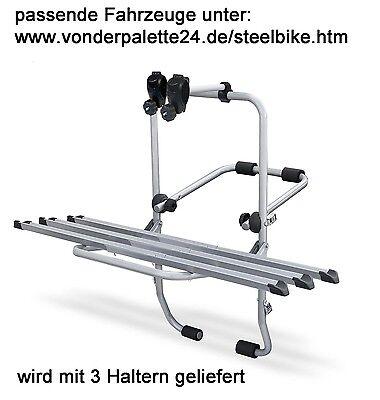 Steelbike Fahrrad Heckträger Renault Twingo 1993-2013 3 Räder Fahrradträger