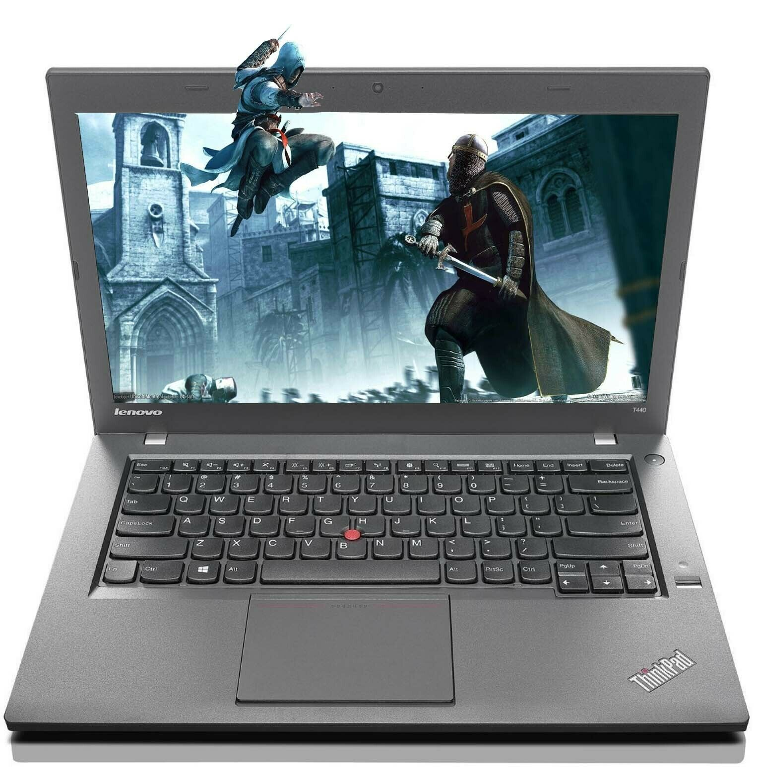 "Laptop Windows - Cheap Gaming Laptop Lenovo T440 i5 2.9Ghz 500GB SSD 8GB 14.1"" HD Windows 10"