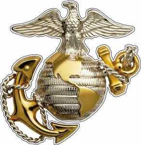 Marine Corps Eagle Globe & Anchor USMC EGA Bumper Window Sticker Vinyl Decal