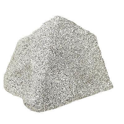 """Waterproof 5"""" Dual Cone 50W Granite Real Effect Outdoor Garden Rock Speaker"""