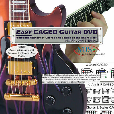Guitar Chords & Scales Beyond The 3rd Fret DVD Lessons Learn To Play ENTIRE Neck
