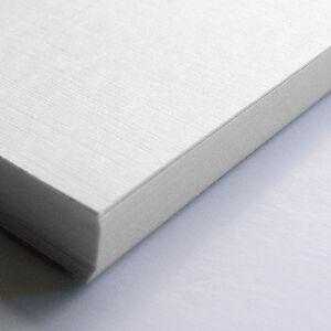 50x A4 Sheets Textured Hammer Linen 100gsm Craft Paper Stock Pack (Zanders Zeta)