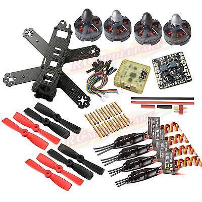 DIY Mini QAV210 FPV Quadcopter Drone CC3D MT2204ⅡMotor BLHeli 12A ESC 4050 Props