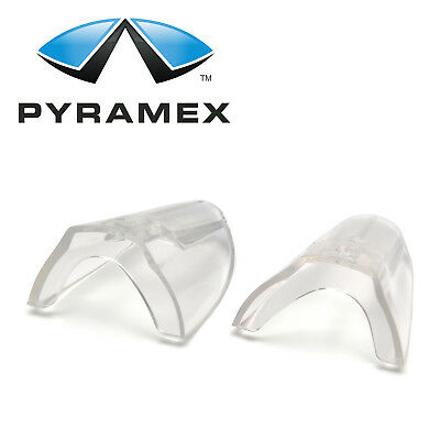 Pyramex Clear Side Shields Universal Fit Flexible For Eye Glasses Safety Glasses