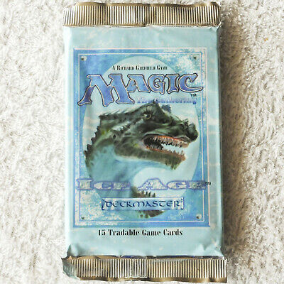 Sealed Booster Pack Box - MTG: ICE AGE Factory Sealed Booster Pack from Box - Magic the Gathering English