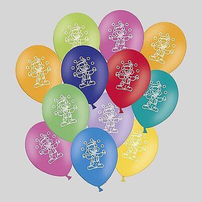 30 / 50 Luftballons Clown für Party Kindergeburtstag Fasching Karneval ()
