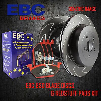 NEW EBC 240mm REAR BSD PERFORMANCE DISCS AND REDSTUFF PADS KIT KIT18051