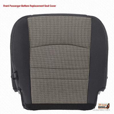 2009 2010 2011 2012 Dodge Ram 1500 SLT PASSENGER Bottom CLOTH Seat Cover GRAY