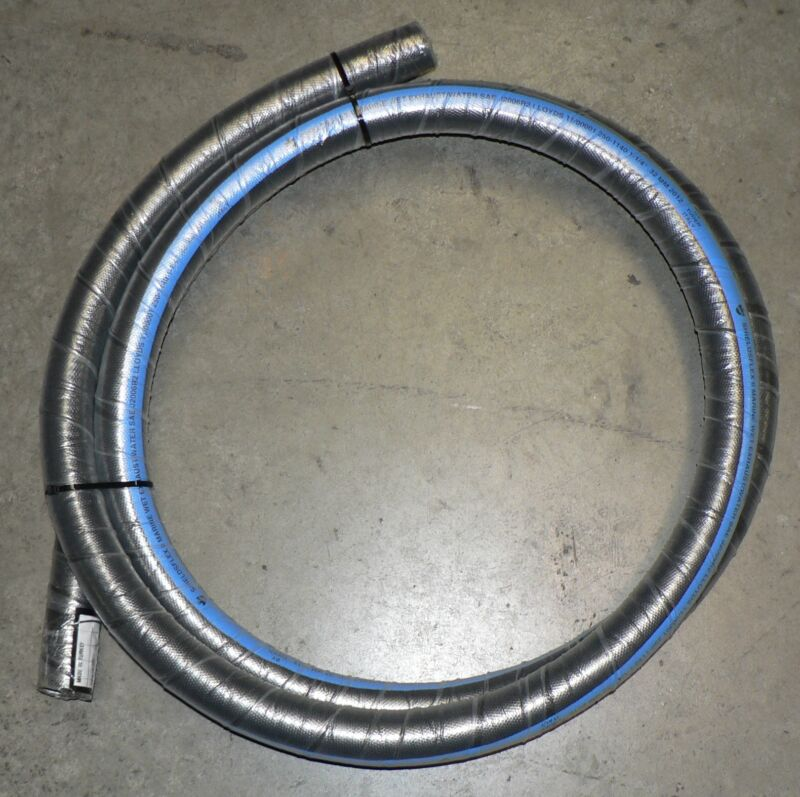 "1 1/4"" Marine Wet Exhaust Hose Shields 250 With Wire 12"