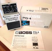 Boss PQ-4 Parametric Equaliser Doncaster Manningham Area Preview
