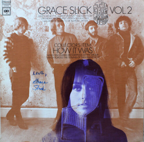GRACE SLICK and The Great Society VOL 2 HOW IT WAS Jefferson Airplane!!