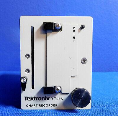 Tektronix Yt-1s Chart Recorder Module