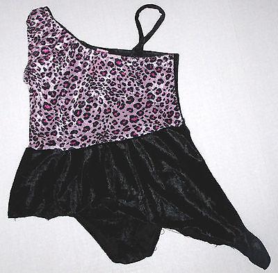 Nwt New Dottie Loves Lot 10 Dance Leotard Dress Recital Costume Cute Girl S + M
