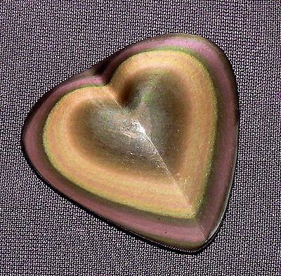 Regenbogenobsidian aus Mexico Herz, 6,9g 29x28x7mm