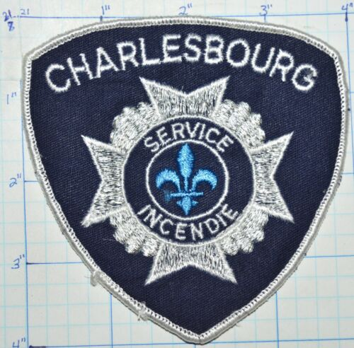 CANADA, CHARLESBOURG FIRE DEPT SERVICE INCENDIE QUEBEC PATCH