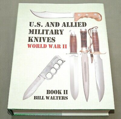 """US & ALLIED MILITARY KNIVES VOL 2"" WW2 CASE EK WESTERN OSS KNIFE REFERENCE BOOK"
