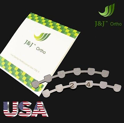 Jj Ortho Orthodontic Lingual Retainer 2 Pieces