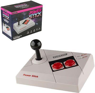 Mando Arcade Power Stick compatible NES tipo Advantage nuevo